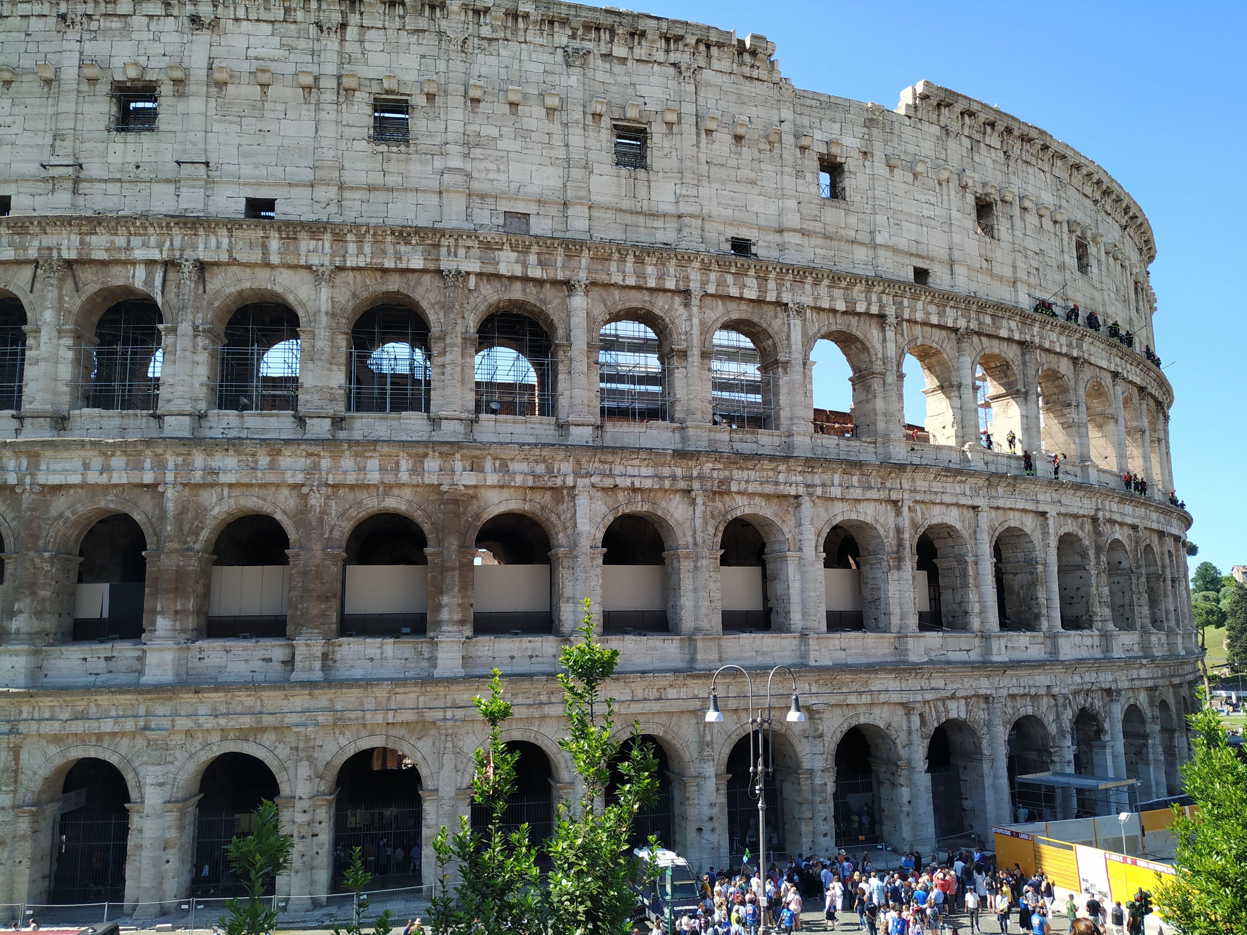 Exterior del Coliseo.