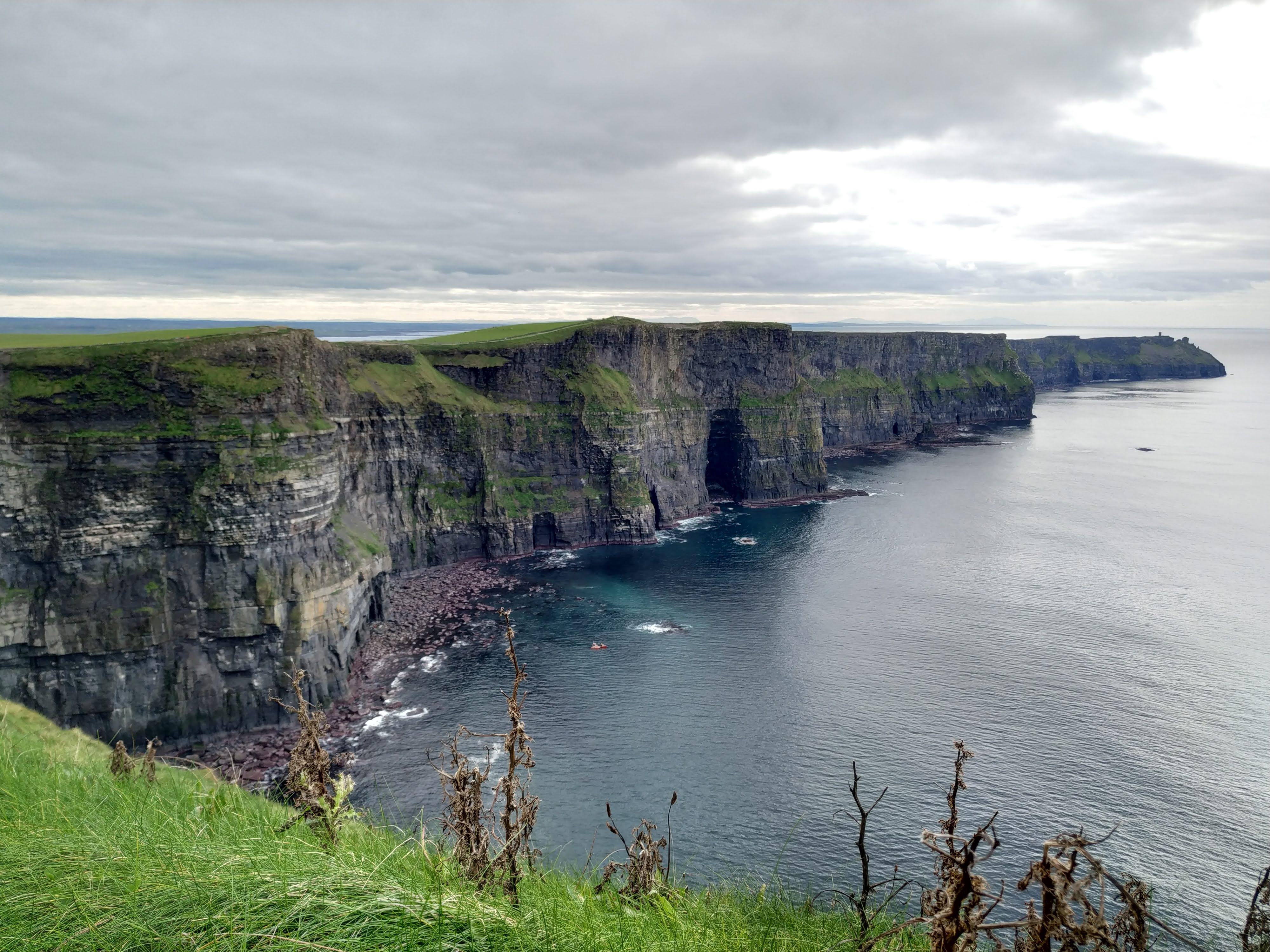 Acantilados de Moher en Irlanda,